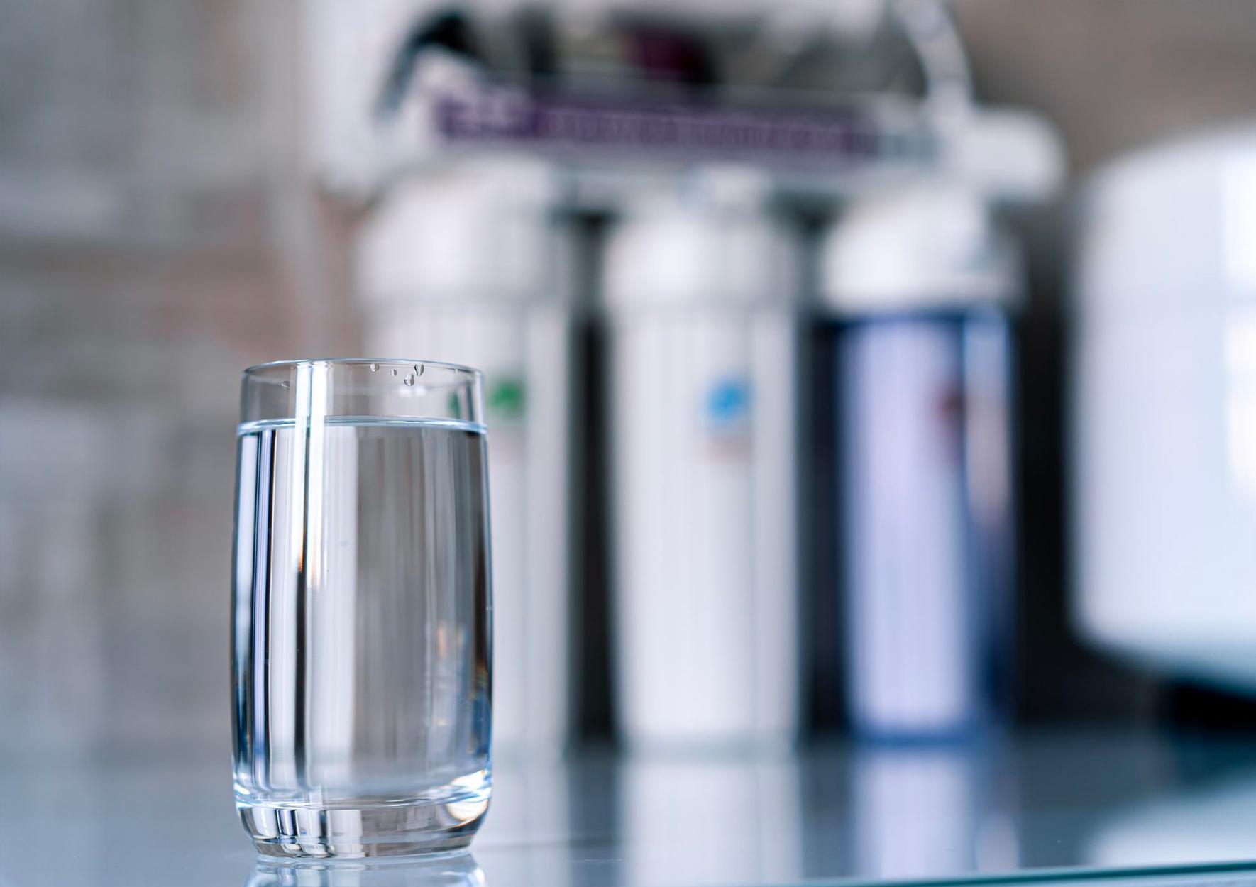 دستگاه تصفیه آب شش مرحله ای