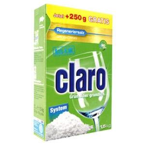 نمک ماشین ظرفشویی 1.5 کیلویی کلارو